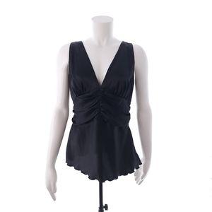 Bisou Bisou Michele Bohbot Size 8 Black Sleeveless